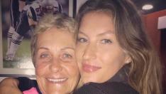 Gisele homenageia sogra pela batalha contra o câncer de mama