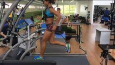 Na rede social, paratleta exibe vídeo de treino para Jogos Paralímpicos 2020