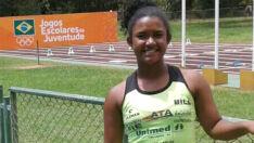 Nathália Felipe está entre às 10 melhores do país, em arremesso de peso
