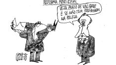 Charge do dia - Reforma