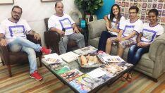 Projeto escolar, destaques do Jornal do Povo e informação no programa 'A Casa é Sua'