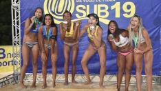 Aninha e Vitória são campeãs no Circuito Brasileiro de Vôlei de Praia Sub19