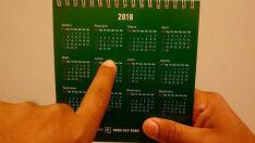 Ano novo terá 11 feriados e cinco pontos facultativos