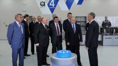 Grupo empresarial da Rússia visita instalações da UFN 3