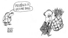 Charge do dia - Abacaxi