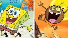 7 imitações bizarras de desenhos animados famosos