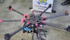 Drone é derrubado na Penitenciária Estadual de Dourados