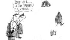 Charge do dia - Ministro