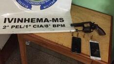 Roubo de supermercado é frustado pela Polícia Militar de Ivinhema