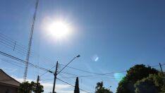 Sem chuva, quinta-feira será de calor em Três Lagoas com máxima de 35ºC