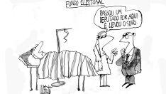 Charge do dia - Fundo eleitoral