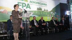 Tereza Cristina assume a Frente Parlamentar da Agropecuária