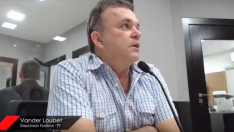 Na CBN, Vander Loubet aposta em fortalecimento do PT no MS
