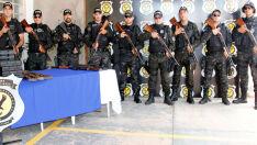 Agepen recebe doação de armas de uso restrito