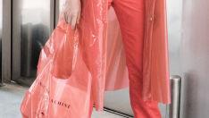 As bolsas de plástico são a tendência polêmica da vez