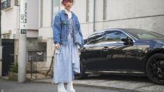 Como usar jaqueta jeans oversized