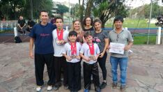 Atletas de Campo Grande garantem medalhas de ouro em Festival de Kung Fu