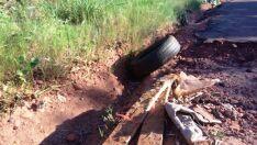 Buracos alteram rotina  de moradores do Jardim América