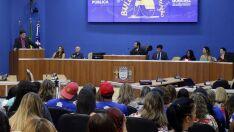 Alerta e apoio são principais propostas de audiência pública