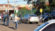 Repórter é multado enquanto registra fotos de blitz em Paranaíba