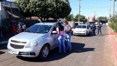 'Faça Bonito': Servidores de Inocência saem às ruas para mobilizar a população