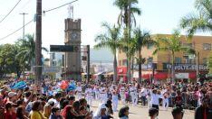 Três Lagoas completa 103 anos com shows, desfile e lançamento de obras