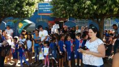 Escola municipal realiza na sexta exposição literária