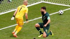 Austrália e Dinamarca empatam em 1 a 1 na segunda rodada da Copa