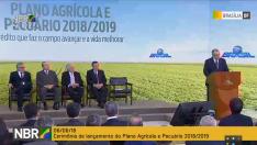 Governo federal lança nesta quarta plano agrícola e pecuário 2018/19