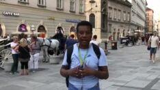 Uma alemã que torce para a Suíça e brasileiros à espera de jogos na Rússia