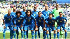 Com equipe definida, seleção brasileira treina para enfrentar Sérvia