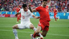 Suíça vira contra Sérvia e embola classificação no grupo do Brasil