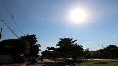 Com possibilidade de chuva à tarde, Três Lagoas terá calor de 30ºC