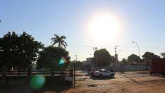 Outono se despede com dia ensolarado e calor de 29ºC em Três Lagoas