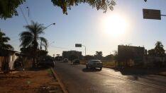 Quarta-feira será de calor de 34ºC e sem chuva em Três Lagoas