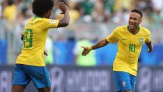 Com gols de Neymar e Firmino, Brasil se classifica para as quartas de final