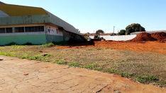Ginásio de esporte de Brasilândia terá praça poliesportiva