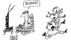 Charge do dia - Bolsonaro