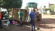 No combate ao Aedes, campanha retira 600 caminhões de lixo das ruas de Três Lagoas