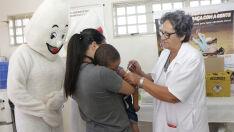Vacinação contra Poliomielite e Sarampo atinge 79,46% em Aparecida do Taboado