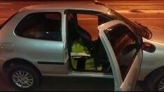 Em perseguição, motorista abandona carro com 356 tabletes de maconha