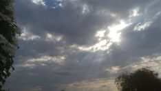 Quarta-feira tem sol com muitas nuvens e temperatura amena