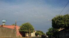 Frente fria chega a MS e céu fica nublado em Paranaíba