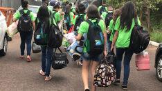Delegação do MS está em Joinville para participar dos Jogos Escolares