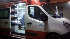 Adolescente provoca acidente com moto e é levado a hospital