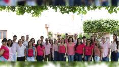 Servidores de Aparecida do Taboado vestem rosa para lembrar prevenção