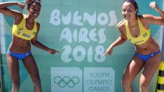 MS perde para dupla italiana nos Jogos Olímpicos da Juventude