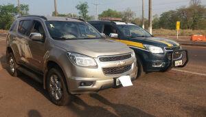 PRF apreende veículos com placas clonadas na BR-262