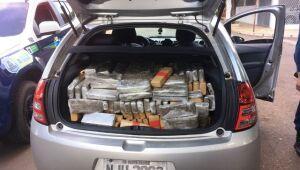 Meia tonelada de maconha e 14 kg de 'skank' são apreendidos pela PMRE