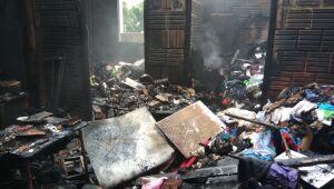 Incêndio em residência no Jardim América pode ter sido criminoso
